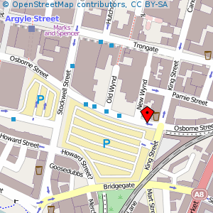 Map: African Caribbean Centre, Glasgow