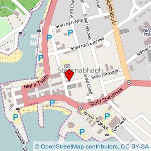 Map: County Hotel, Stornoway
