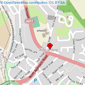 Map: Kincardine Community Centre, Kincardine