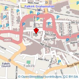 Map: Falkirk Old & St. Modan's Parish Church