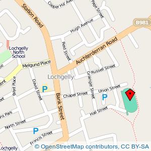 Map: Park at Hall Street, Lochgelly