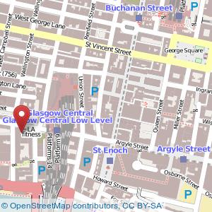 Map: Radisson Blu Hotel, Glasgow