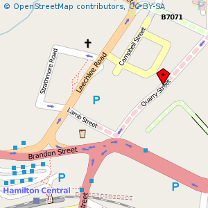 Map: Regent Shopping Centre, Hamilton
