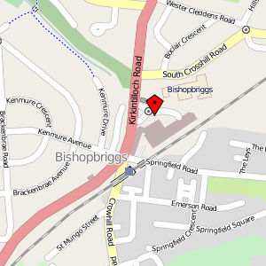Map: The Triangle Shopping Centre, Bishopbriggs, Glasgow