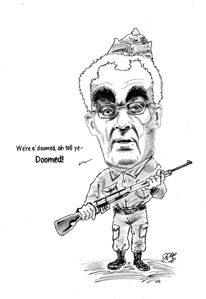 Doomsayer Alistair Darling
