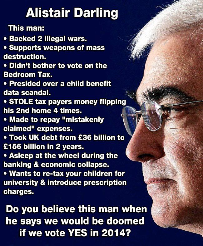 Do You Believe Alistair Darling?
