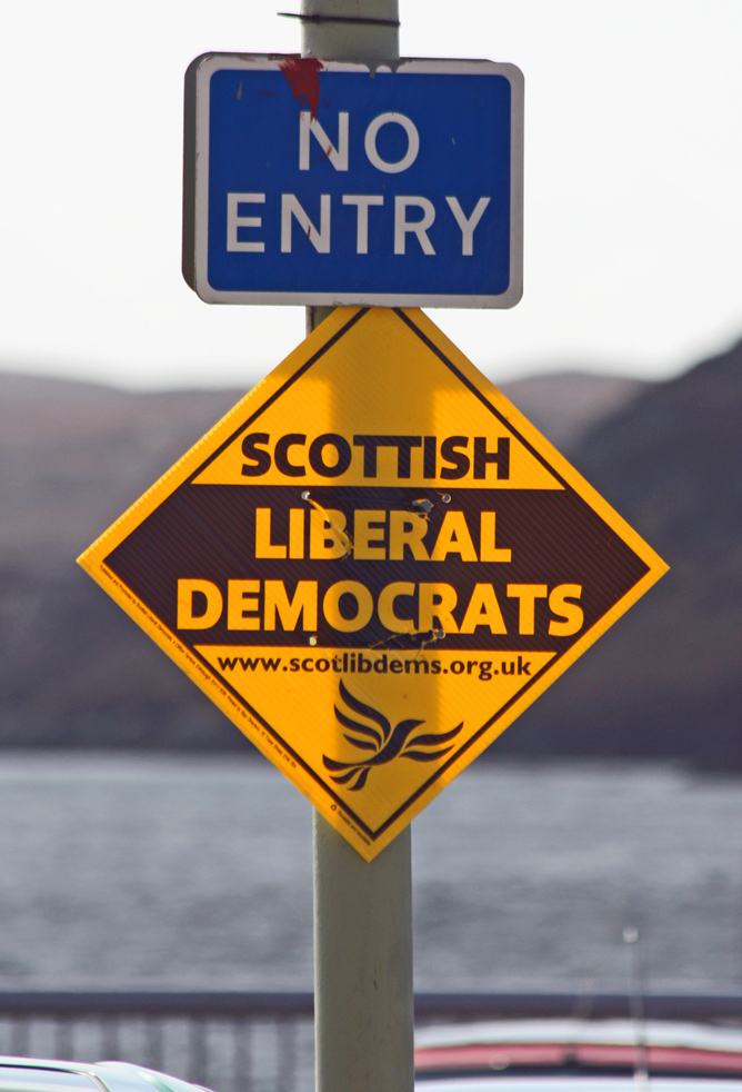 Scottish Lib Dems - No Entry